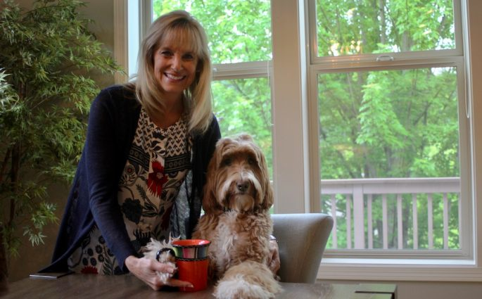 Reagandoodle's Human Mom Talks With Who I Met Today Blog