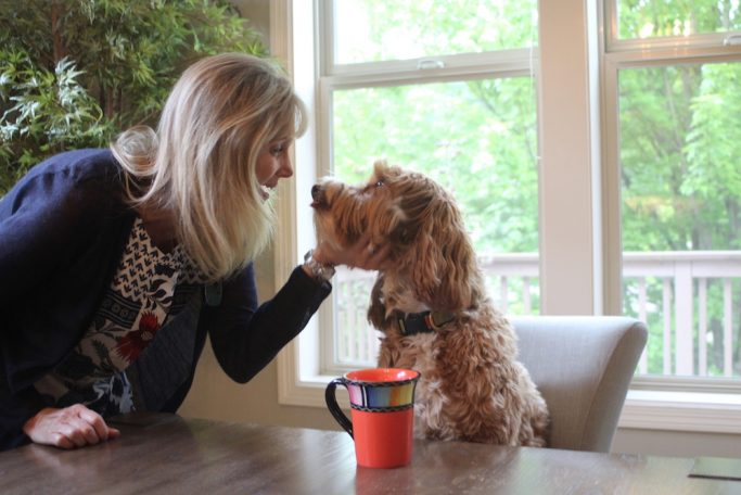 Who I Met Today Blog Talks With Sandi and Reagandoodle