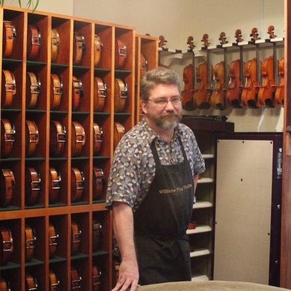 Dustin Williams, Violin Maker in Nashville, TN