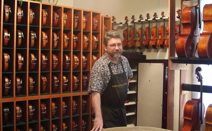 Dustin Williams, Violin Maker in Nashville, TN
