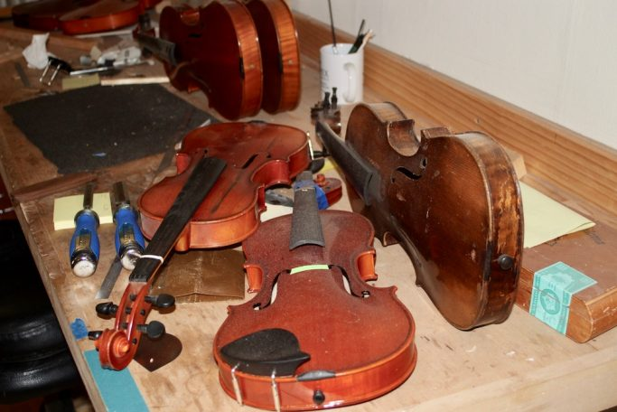 Williams Fine Violins and violin maker Dustin Williams