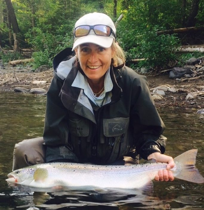 Fly fishing retreats for women with breast cancer