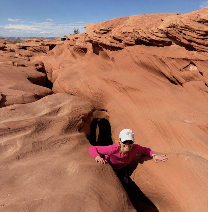 exploring Antelope Canyon in Arizona