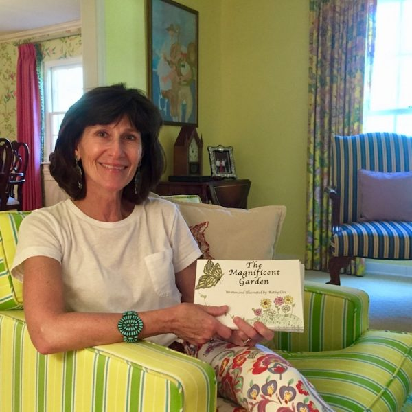 Kathy Cire author of The Magnificent Garden