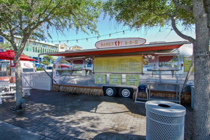 Barefoot BBQ Trailer in Seaside on 30A