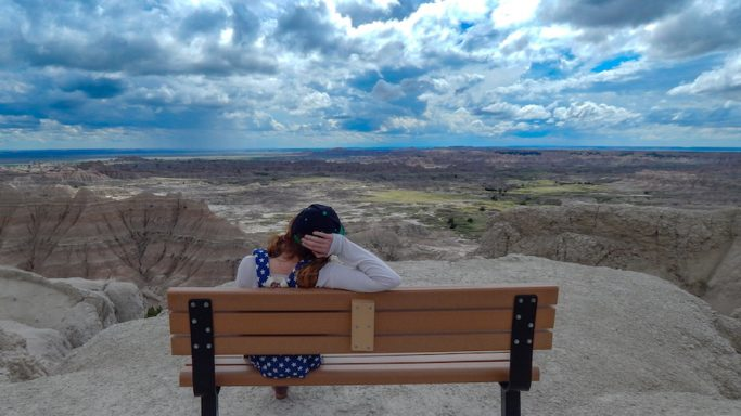 travel nurse in badlands national park south dakota