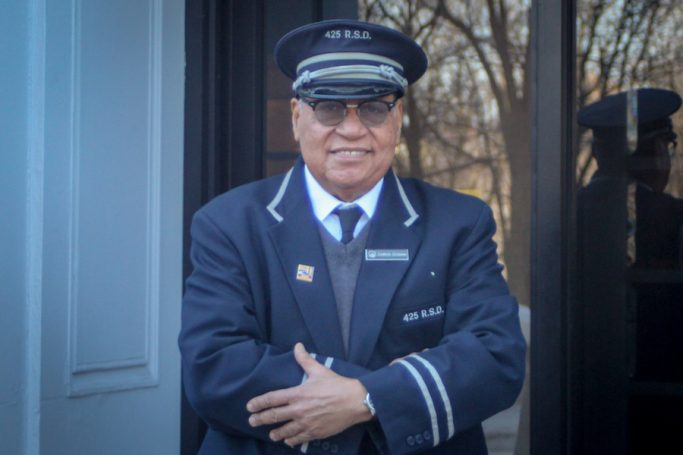story about a new york city doorman