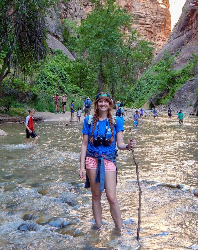 travel nurse in zion national park
