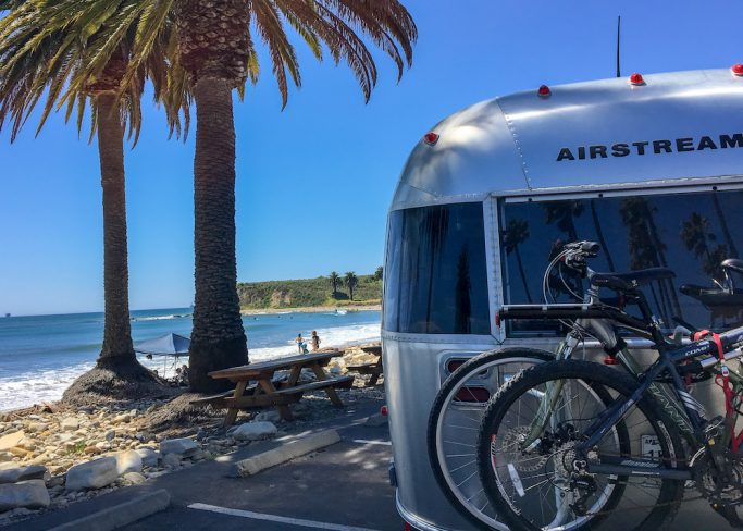 airstream beach travels