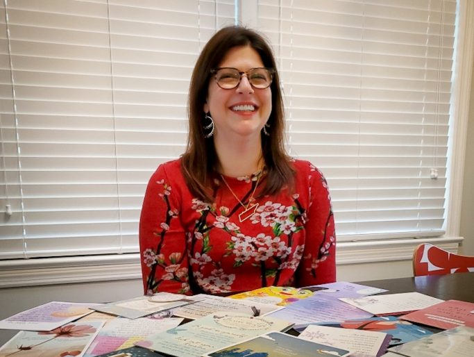 Katherine Stano greeting card writer at Hallmark
