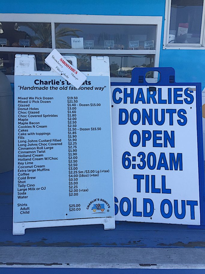 Charlies Donut Truck Alys Beach