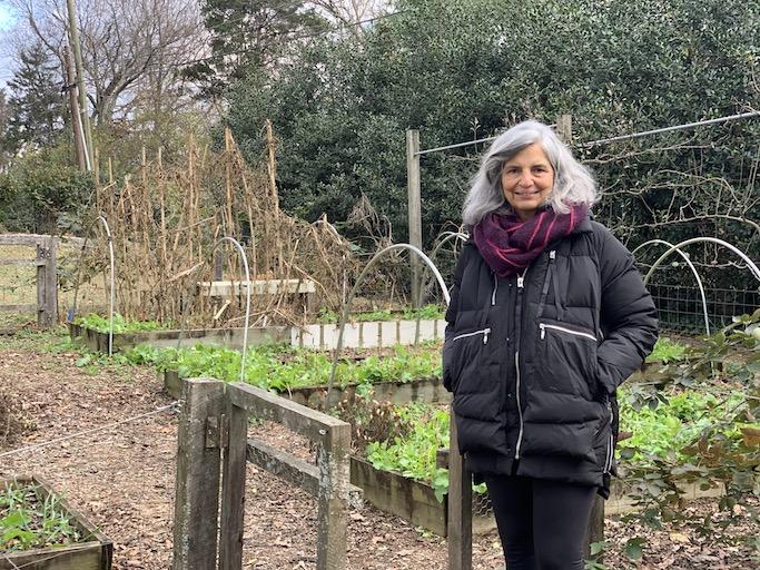 Judy Wright - Judy's Chickens - A Master Gardener