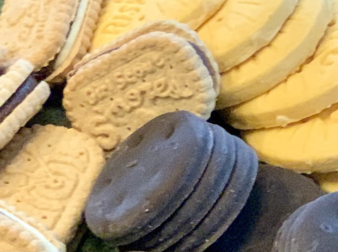 Girl Scout cookie assortment