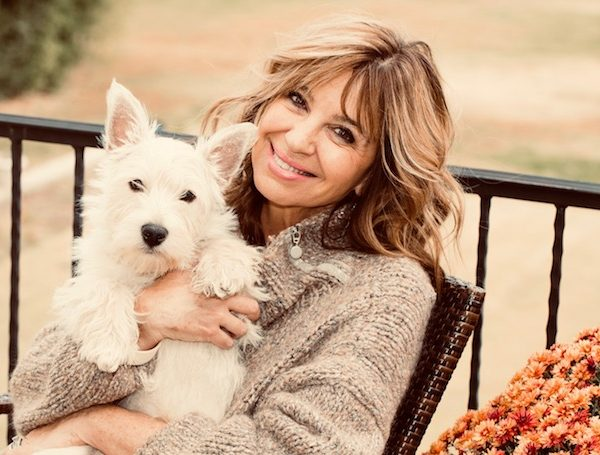 Amy Marsalis and Jack, her Westie