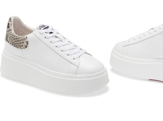 Ash Platform Sneaker - perfect shoes for travel