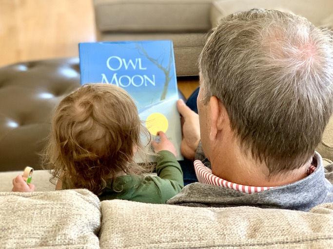 Reading picture books to children