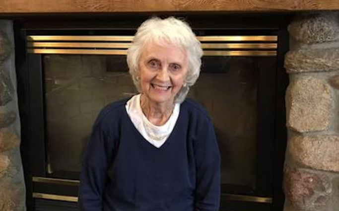 Meet Ruby, a curious woman over 75
