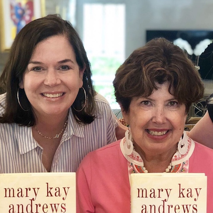 Cindy Burnett and Mary Kay Andrews